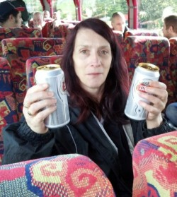 full Stella, empty coach!