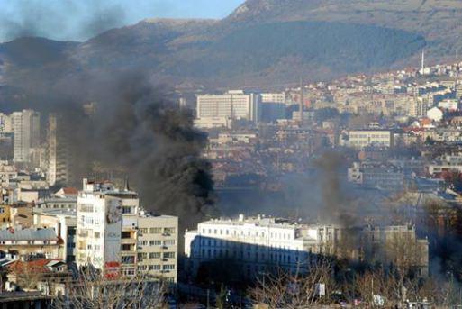bosnia fire